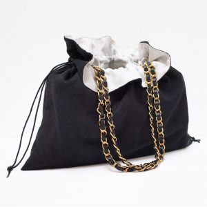 MPS Reversible Dust Bag for Chanel Medium Flap Bags and Small-Medium Designer Bags
