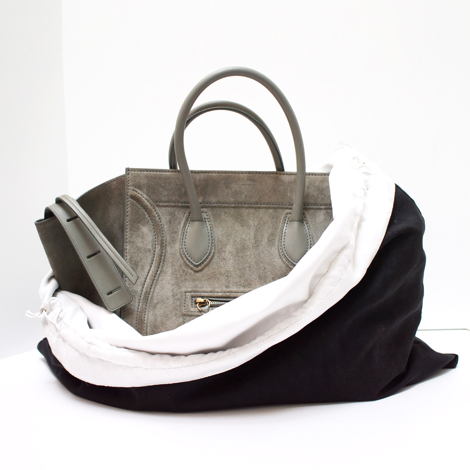 Details About Luxurious Reversible Black White Dust Bag Cover Large 23 75 W X 19 5 H