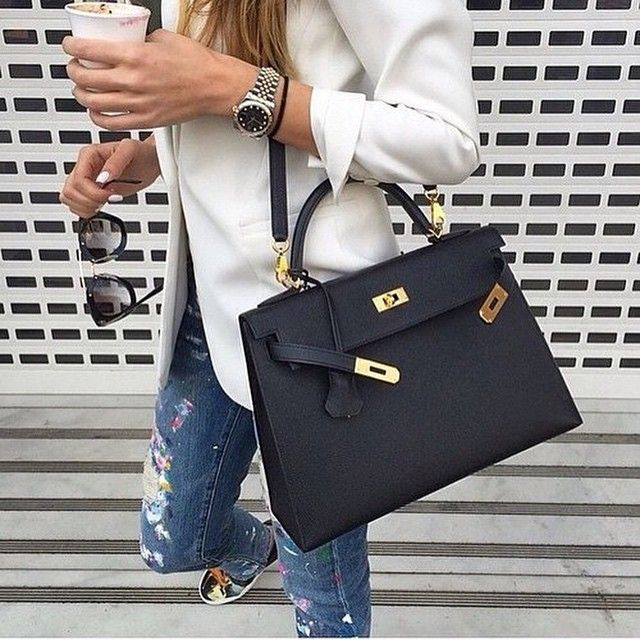 ... usa cm instagram vipshopbags hermes sellier kelly 35cm black leather  gold hardware bag 4e1eb bd49d 1d3d277293dfc