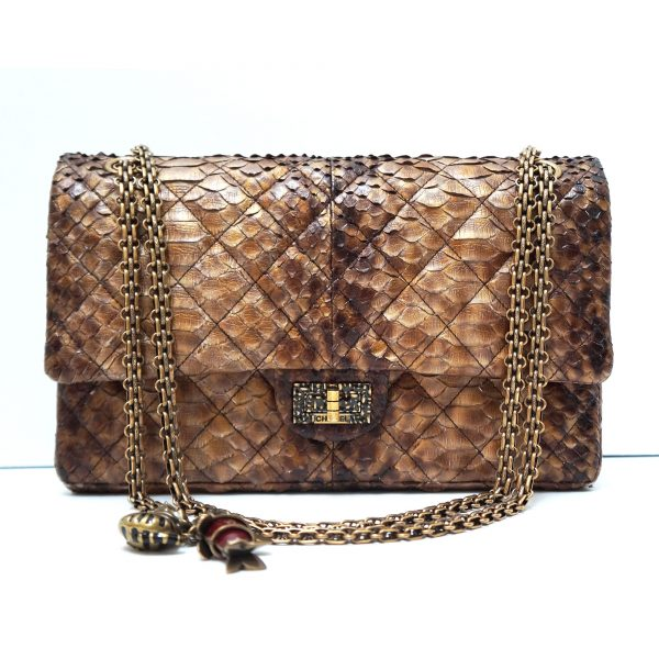 Chanel Limited Edition Shanghai Lucky Charms Python Reissue Flap Bag