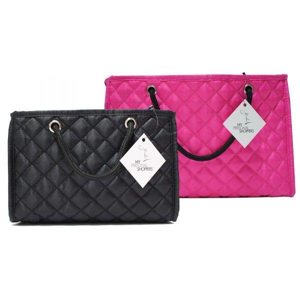 MPS Zoe Handbag Insert 2-Pk (Large Pink + Medium Black)