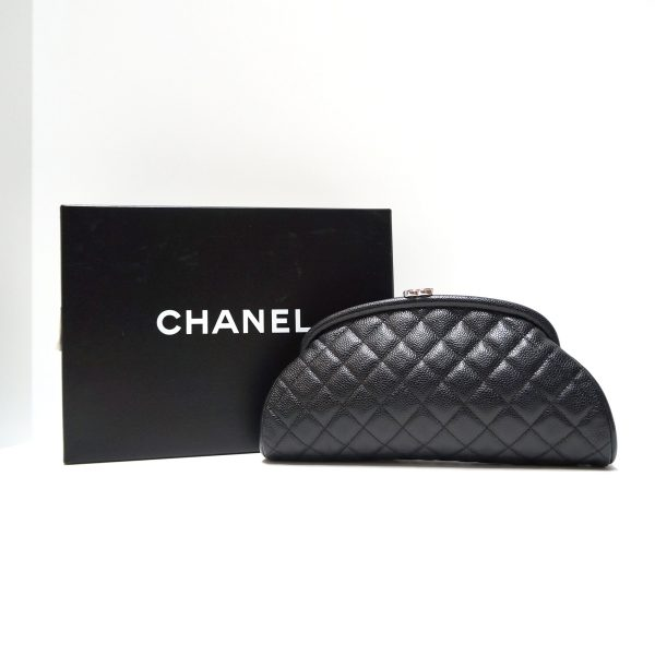 Chanel Timeless Kiss-lock Clutch Bag