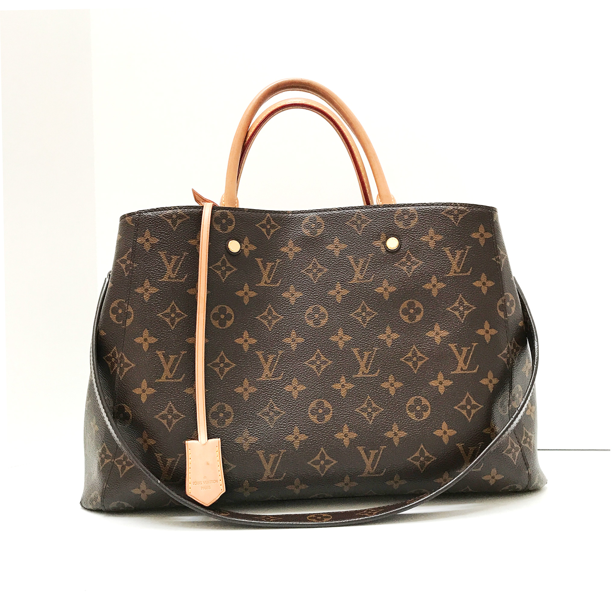 Louis Vuitton Montaigne GM Tote Bag Monogram Canvas with Shoulder Strap 66bd7be116514