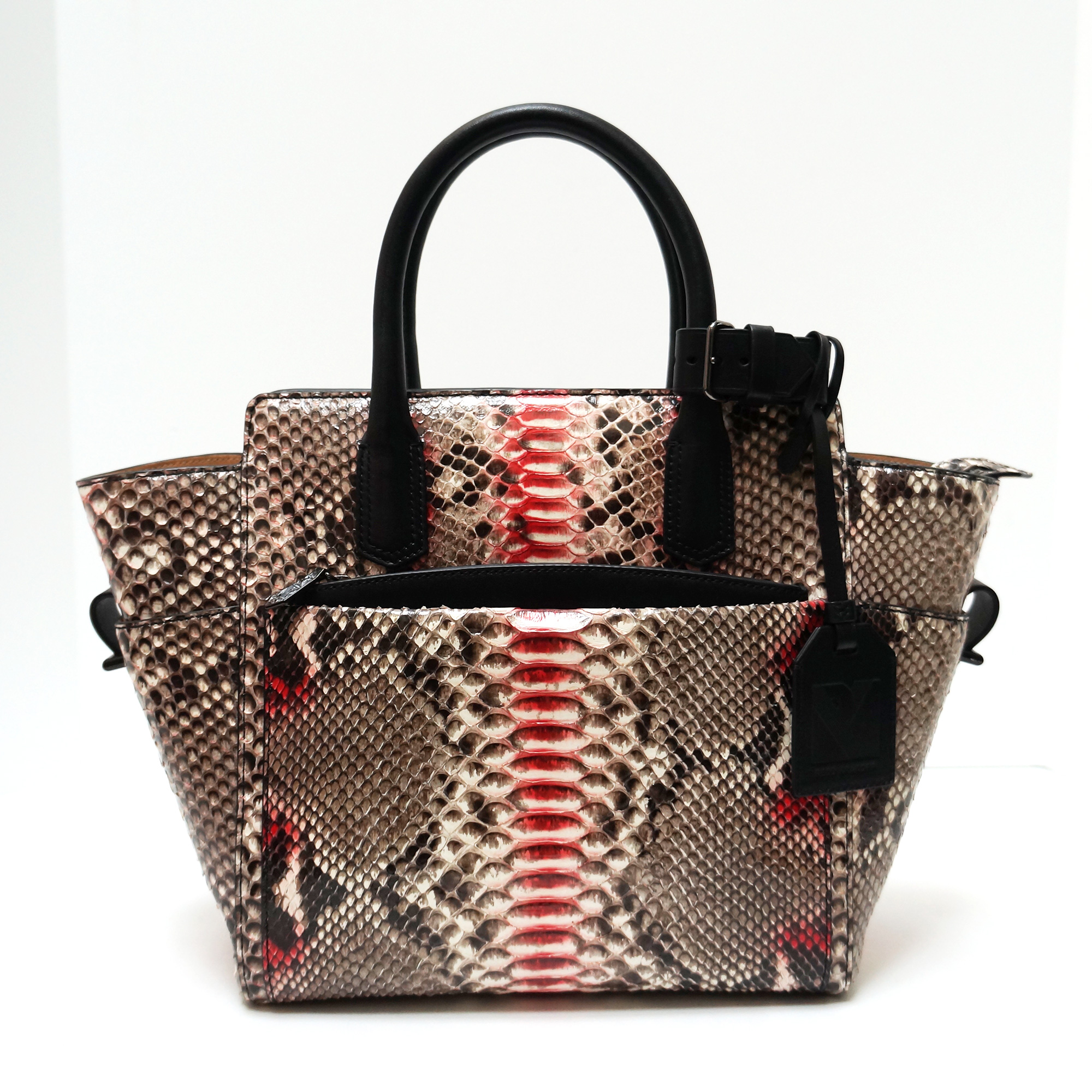 Reed Krakoff Atlantique Python Tote
