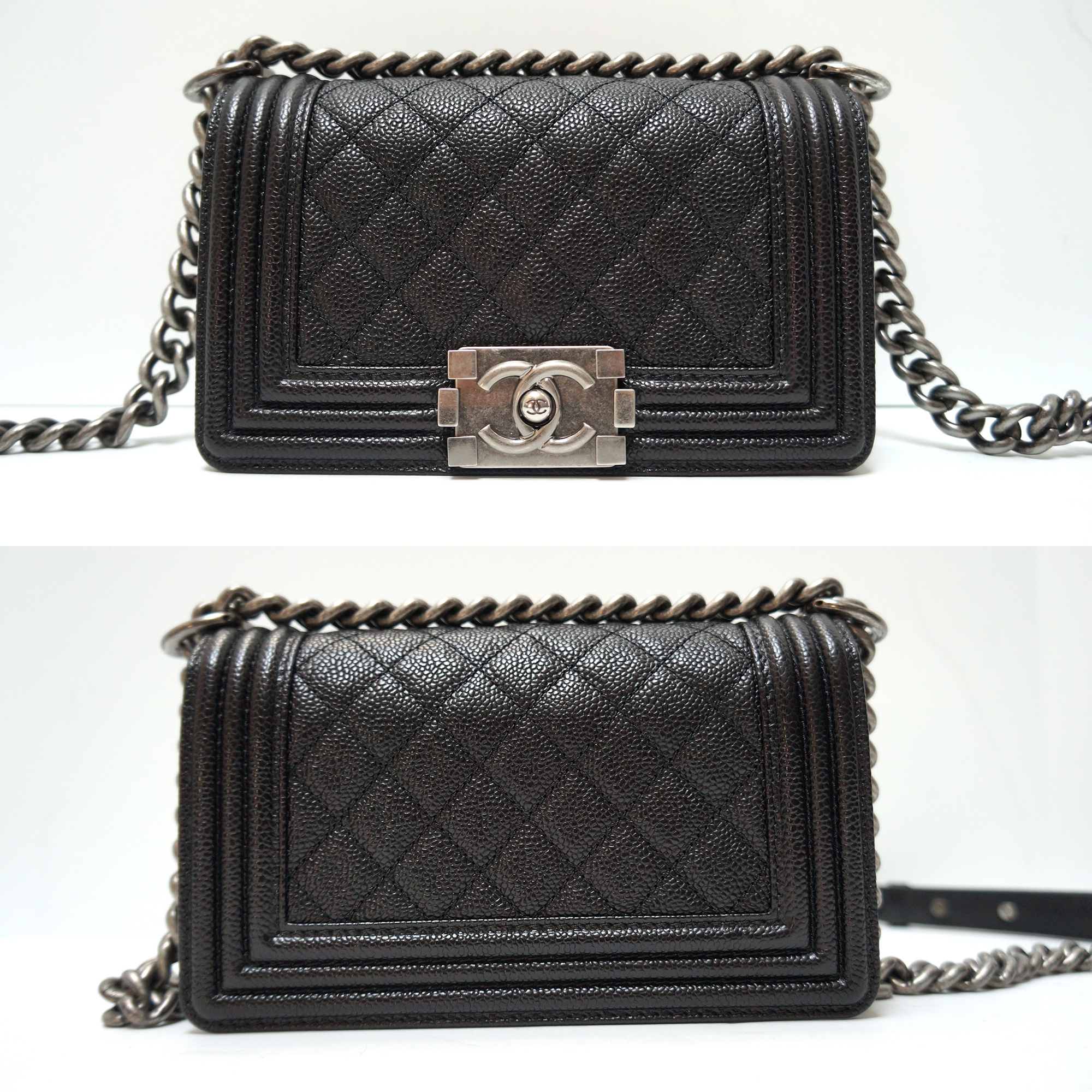 6e83b09a53345f Chanel Small Flap Bag Caviar Leather | Stanford Center for ...