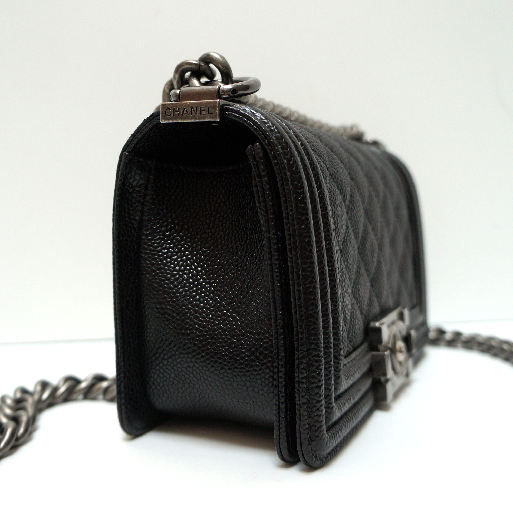 9cffb057c3523d Chanel Small Flap Bag Caviar Leather | Stanford Center for ...