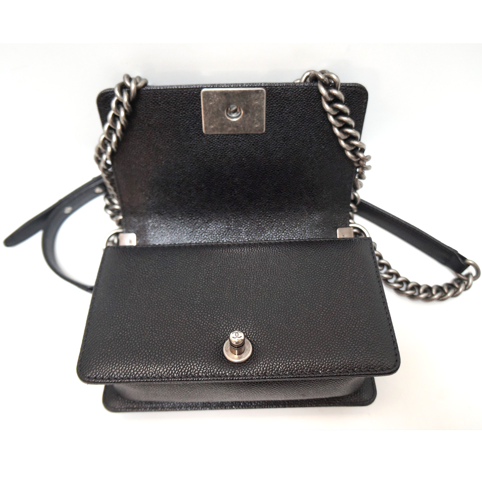 39d990feecf1 Chanel Small Flap Bag Caviar Leather | Stanford Center for ...