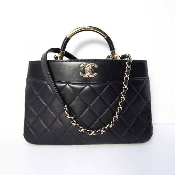 Chanel Carry Chic Shopping Bag