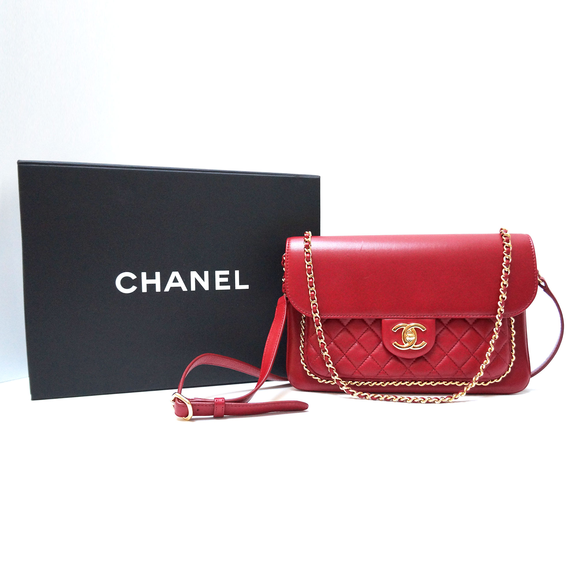 Chanel Unchained Flap Bag