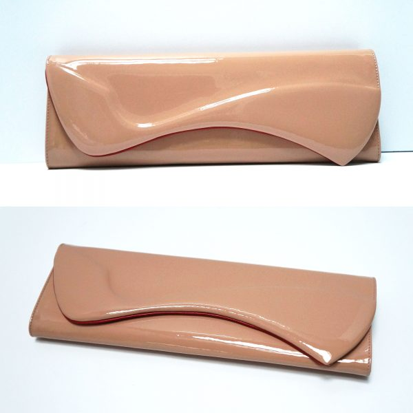Louboutin Pigalle Patent Leather Clutch