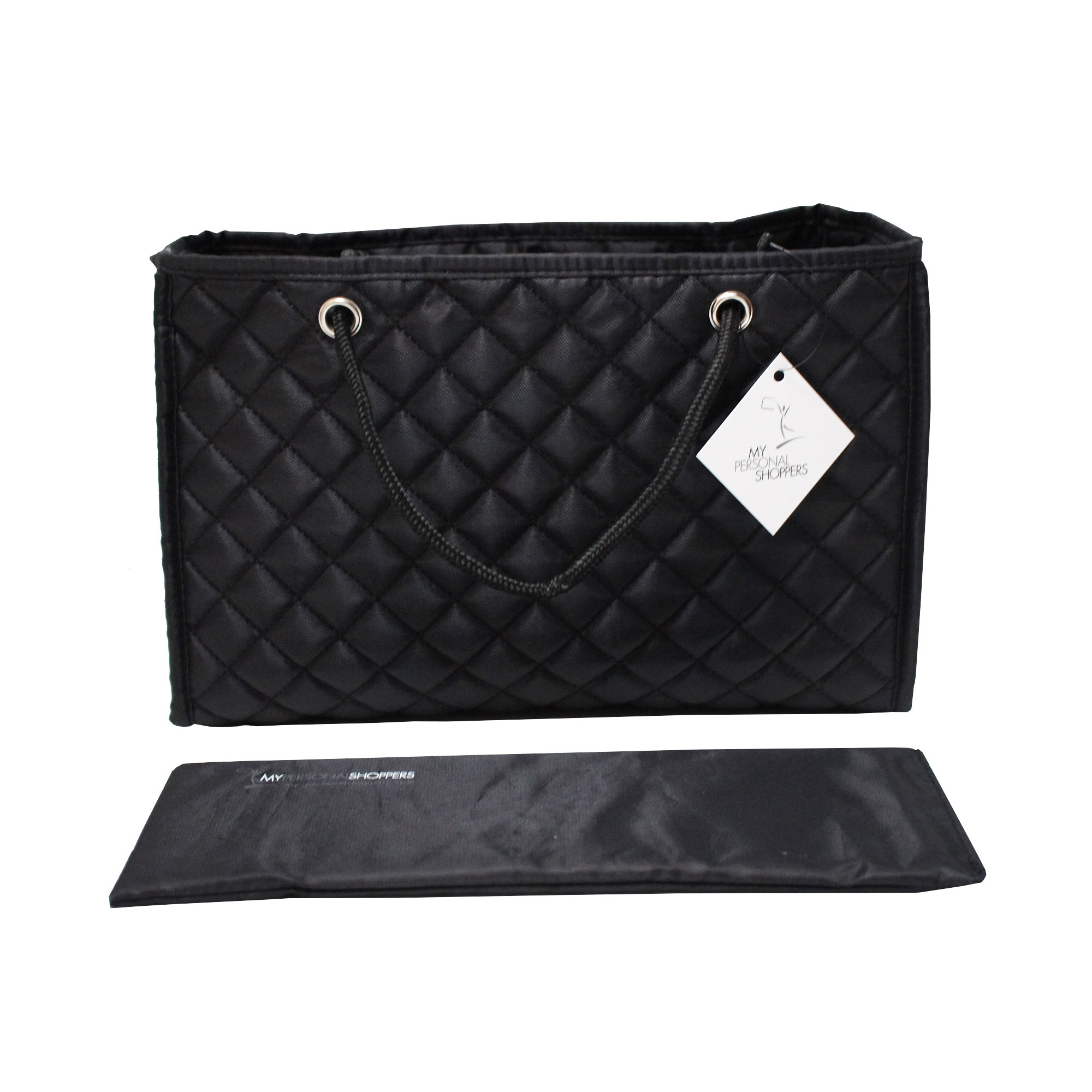 eb6d3bf670415 Zoe Quilted Handbag Organizer Insert with Removable Base (Large ...