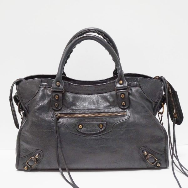 Balenciaga Black Classic City Bag