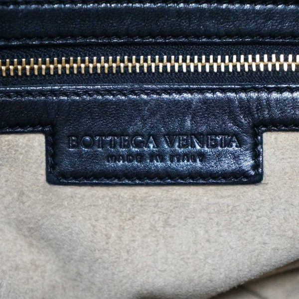 Bottega Veneta Intrecciato Black Woven Leather Hobo