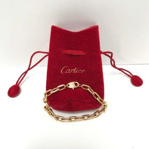 Cartier Spartacus 18k Yellow Gold Bracelet