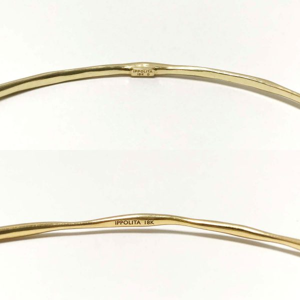 Ippolita 18k Gold Classico Bangle Bracelets