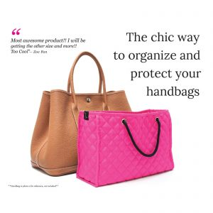 Zoe Handbag Insert - the chic way to organize and protect your handbags