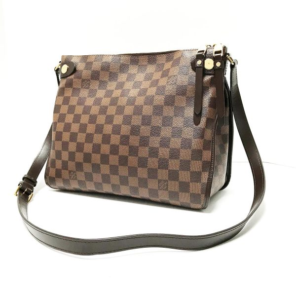 Louis Vuitton Duomo Ebene Damier Canvas Crossbody Messenger Bag