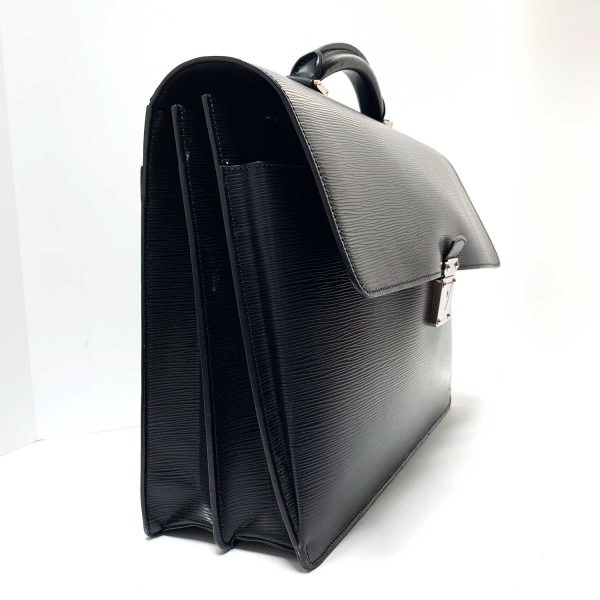 Louis Vuitton Black Epi Leather Robusto 2 Briefcase Bag