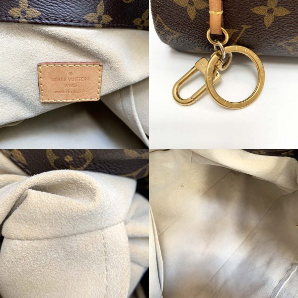 Louis Vuitton Artsy MM Brown Monogram Canvas Hobo Bag
