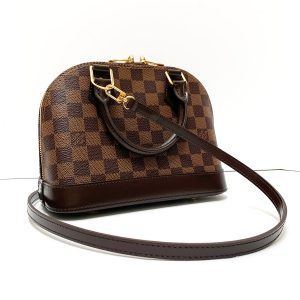 Louis Vuitton Damier Ebene Alma BB Bag
