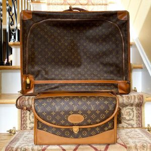 Louis Vuitton Vintage Monogram Luggage 2-piece Set