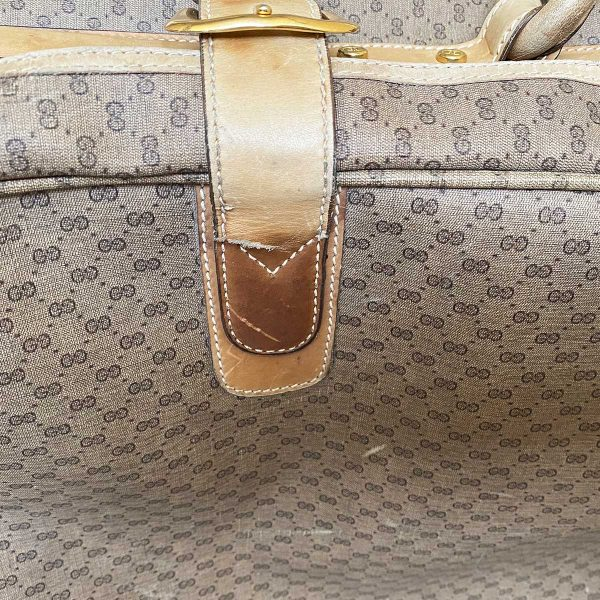 Gucci Vintage Monogram Luggage Set (2 Suitcases + Carry-On)