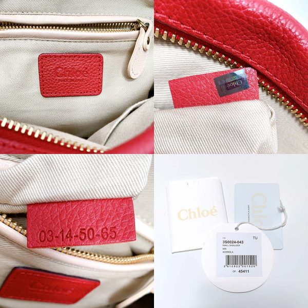 Chloe Small Red Paraty Bag